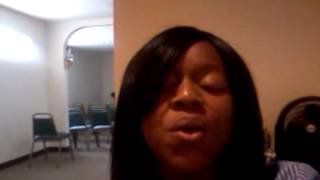 """Singing """"In My Life"""" by Chante Moore"""