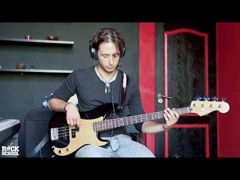 Rush - Tom Sawyer Bass Cover
