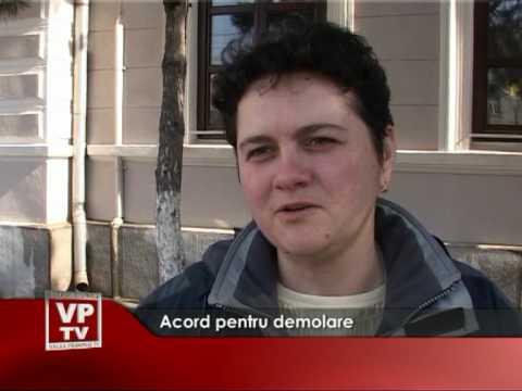 Acord pentru demolare