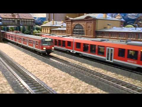 Märklin S-Bahn DB Vorbeifahrt mit Sound