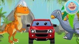 Приключения Красного Пикапчика — Ищем пропавшие яйца динозавров — 2 серия