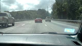 preview picture of video 'Evolution IX Stockturbo getting beat by Ferrari 458 Italia in Puerto Rico'