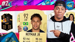 FIFA 19 NEYMAR IS SO BROKEN!! DRAFT TO GLORY #2