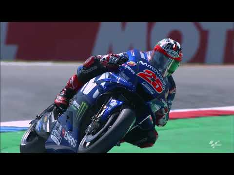 2018 Dutch GP - Yamaha in action