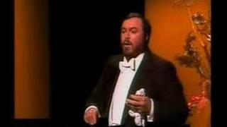 in memoriam: Pavarotti sings Ideale and Marechiare di Tosti
