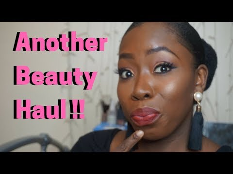 End of the Year Beauty Haul| MsLewaFaces