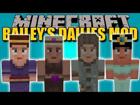BAILEY'S DAILIES MOD - Misiones con RECOMPENZAS en Minecraft - Minecraft mod 1.10.2, 1.11.2 Review
