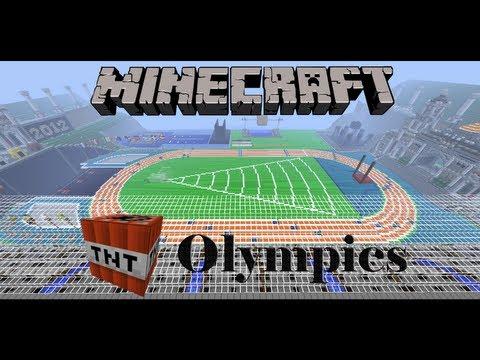 Tnt olympics 2 rio 2016 minecraft project.