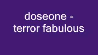 doseone - terror fabulous