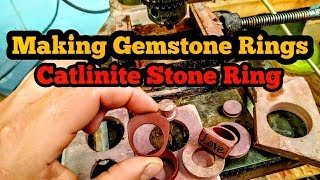 HOW TO LAPIDARY : MAKE A GEMSTONE RING