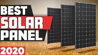 5 Best Solar Panels in 2020
