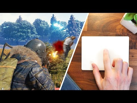 Using the Apple Trackpad for Gaming?!