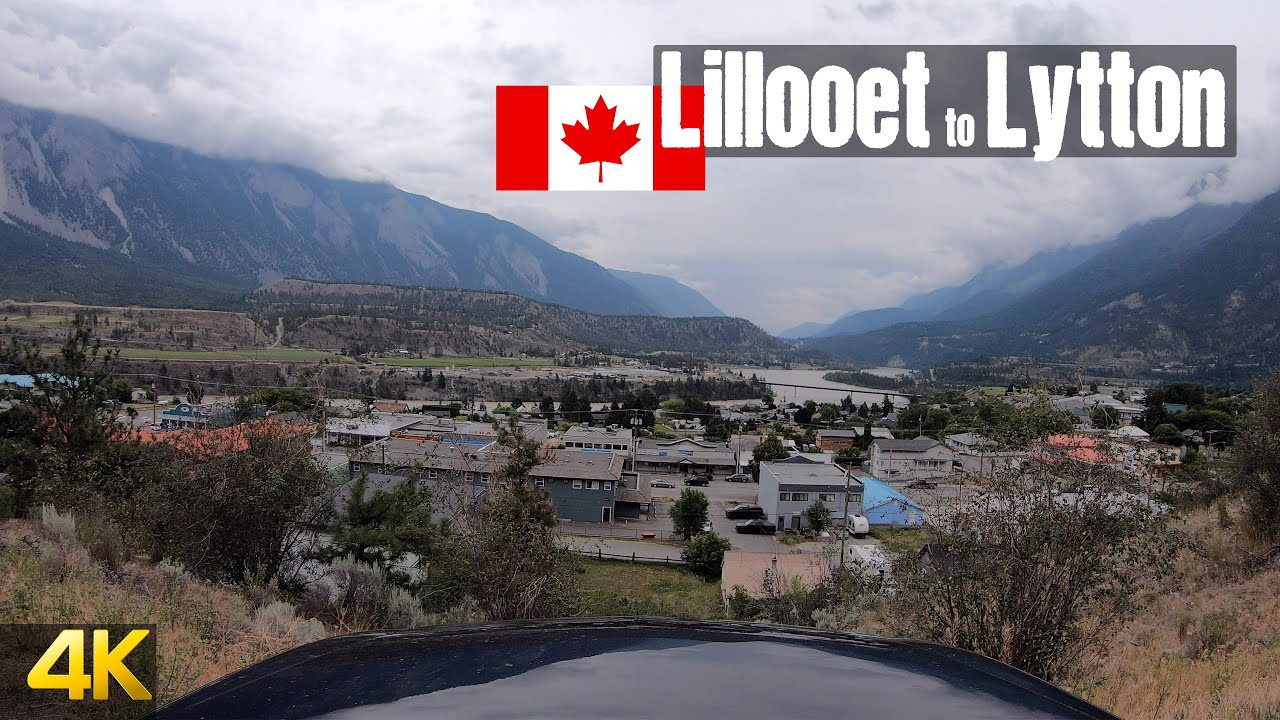 Driving from Lillooet to Lytton | British Columbia Canada
