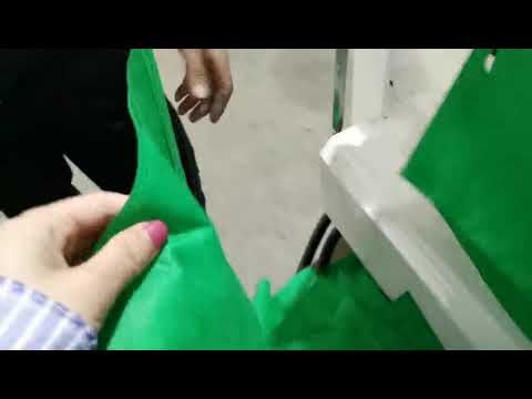 Electric Non Woven D Cut Bag Making Machine