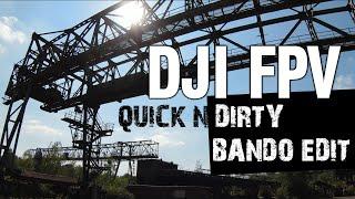 DJI FPV Drohne - Quick & Dirty Short Edit | Duisburg Landschaftspark Freestyle im Acro Mode crash