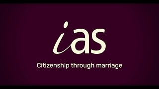 Applying for British Citizenship through Marriage