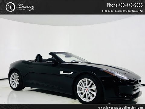 Pre-Owned 2018 Jaguar F-TYPE 340 hp Supercharged V6 Convertible
