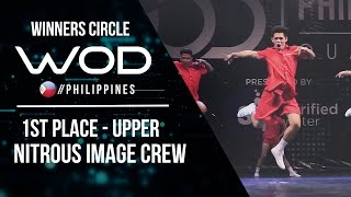 Nitrous Image Crew | Winners Circle | 1st Place Upper Division World of Dance Philippines | #WODPH17