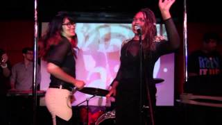 "Kalae Nouveau "" Woman Up"" w/Charlene Kaye LIVE @ R-Bar June 19th 2013"