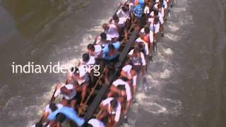 Training Session prior to Nehru Trophy boat race