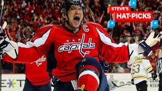 NHL Plays of The Week: Ovechkin Is Ridiculous! | Steve's Hat-Picks