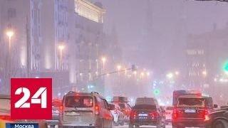 Морозы пришли в Москву: температура в городе падает каждый час