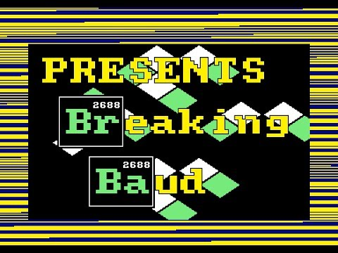 Amstrad CPC Demo - Breaking Baud by CRTC & 3LN (Revision 2014)
