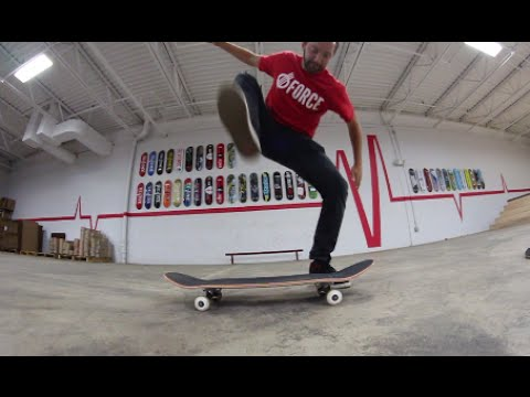 ReVive Skateboards STOMP Test!