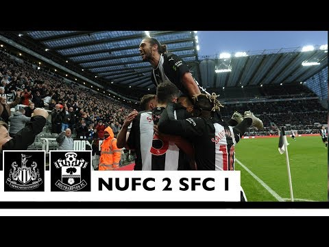 A LATE WINNER 🤩 Newcastle United 2 Southampton 1: Brief Highlights