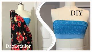 Panties Transformation DIY Bandeau Bikini Top DaoLetailor