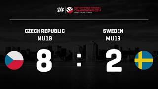 MSJ 2019 Halifax: Highlights Finále Česko - Švédsko 8:2