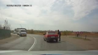Быдло на дороге,драки,разборки Авто приколы