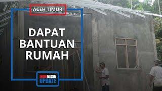 Rumah Lama Jadi Saksi Bisu Tewasnya Rangga, Kini Ibu Muda di Aceh Timur Dapat Hunian Baru