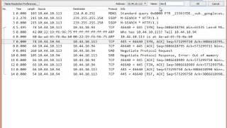 Wireshark Edit Name Resolution