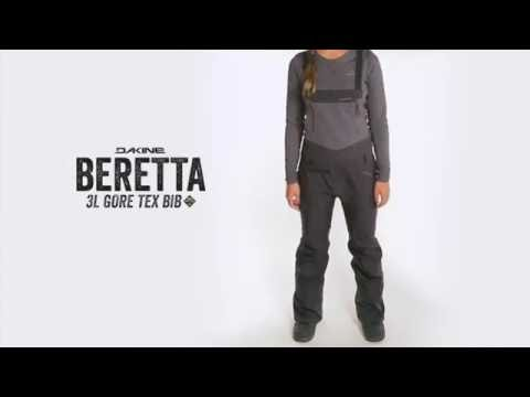 Dakine Beretta Bib Wasserdichte & Ultrawarme Ski / Snowboard Hose für Damen
