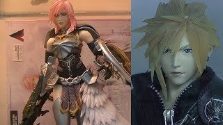 preview picture of video 'Gundams, Lightning and Cloud Strife, Star Parade Cosplay, P5'