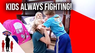 Kids Can't Stop Fighting | Supernanny