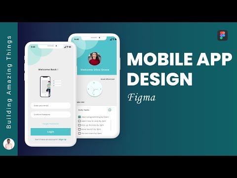 Figma Mobile App Design Tutorial
