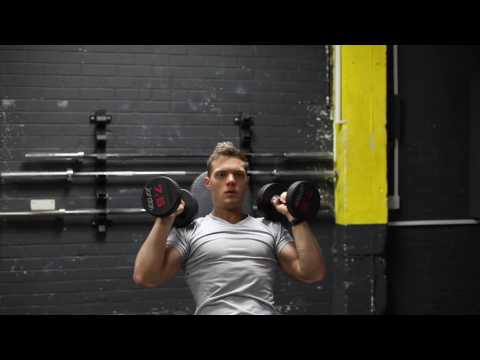 Alternating Seated Dumbbell Shoulder Press Neutral Grip