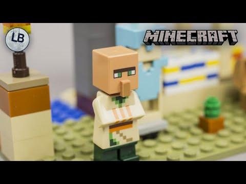 Vidéo LEGO Minecraft 21160 : L'attaque des illageois