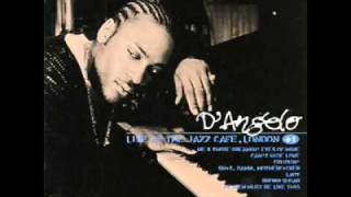 D'Angelo (live @ Jazz Cafe, London) - I'm So Glad You're Mine (Al Green cover) - Lady (intro)