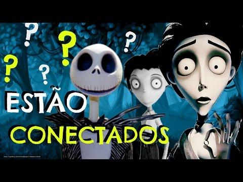 OS FILMES DE TIM BURTON ESTÃO CONECTADOS ??? - TEORIA !!!