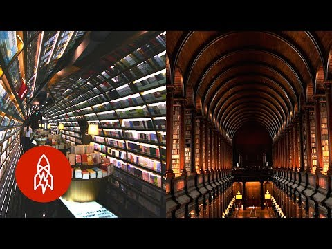 Enter the World of These Amazing & Unique Libraries
