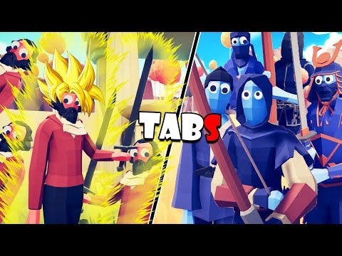 EL MAESTRO SUPER SAIYAN Y EL EQUIPO ASSASSINS CREED | TOTALLY ACCURATE BATTLE SIMULATOR
