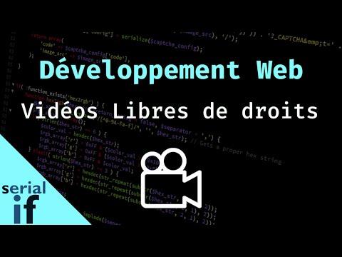 Développement web - Trouver des vidéos libres de droits