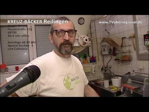 Kreuz Bäcker Reilingen - Arbeit in der BACKSTUBE filmen - ZEIGEN SIE WAS SIE ANBIETEN