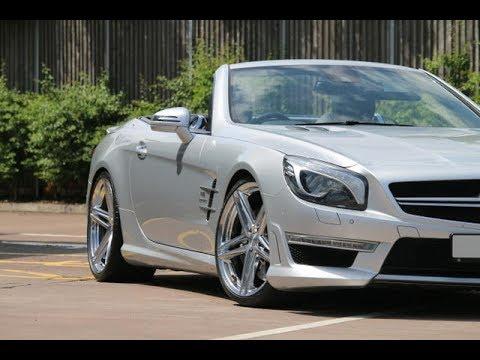 Mercedes SL63 amg get custom Vossen VFS5 wheels