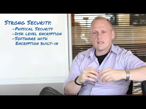 Challenges to Encrypting Data View video on our site.