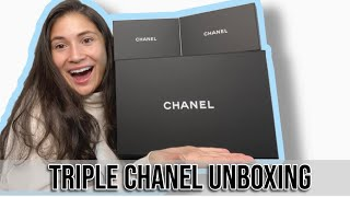 Triple Chanel Unboxing *Unboxing My Dream Bag!!*