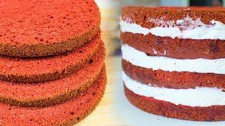 Муссовый торт на основе Красного бархата
